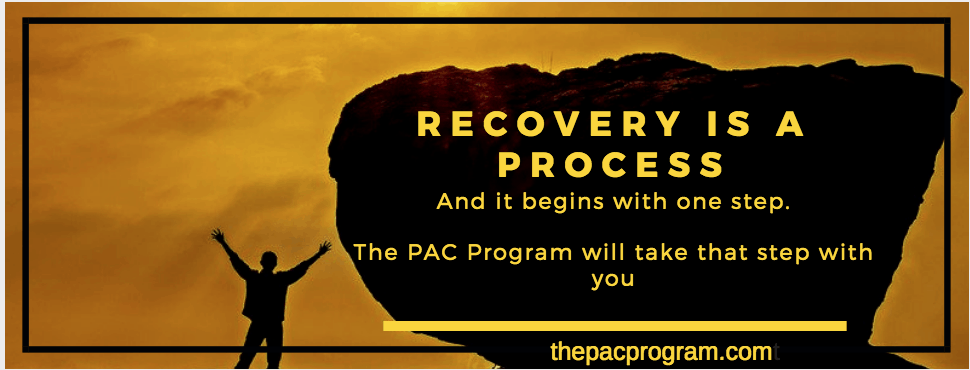 Image of a man arms stretched out and happy because he took the first step towards a new live in recovery at The PAC Program Outpatient Drug Program Network
