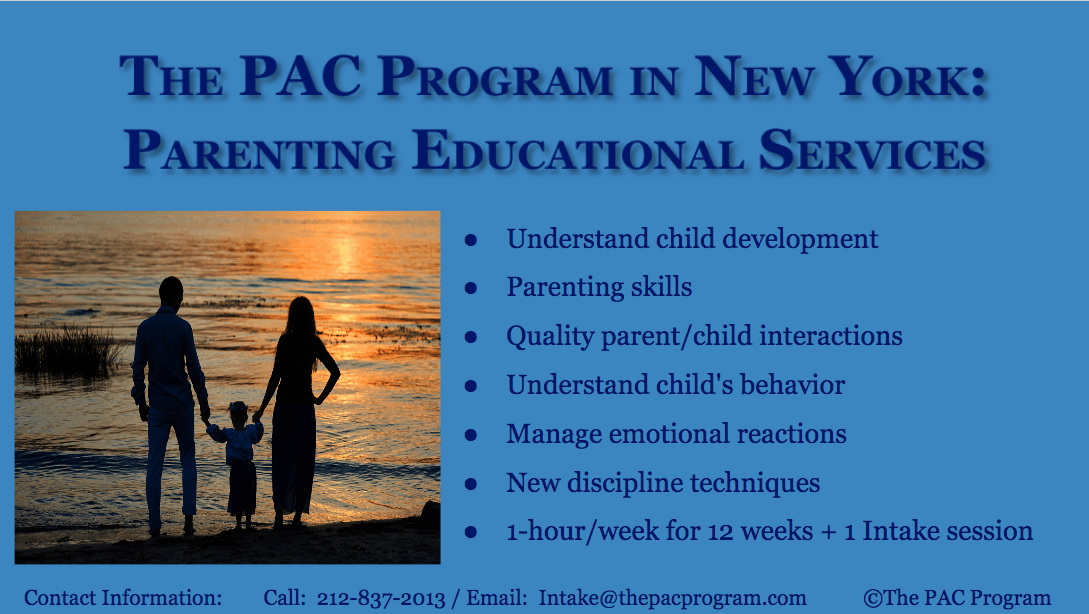 Parenting at The Pac Program of NYC