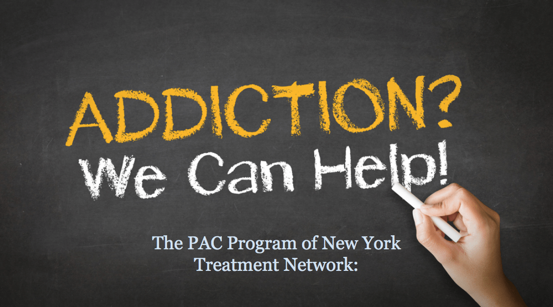 Addiction we can help The Pac Program of NYC