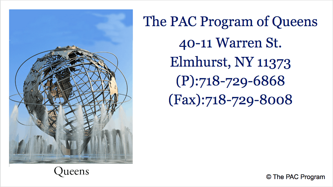 The Pac Program outpatient treatment of Queens NYC