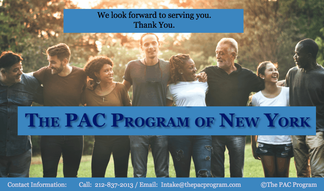 Thank you The Pac Program of New York City